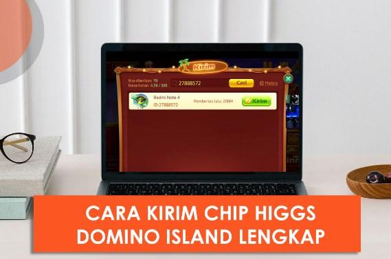 Cara Kirim Chip Higgs Domino Tercepat